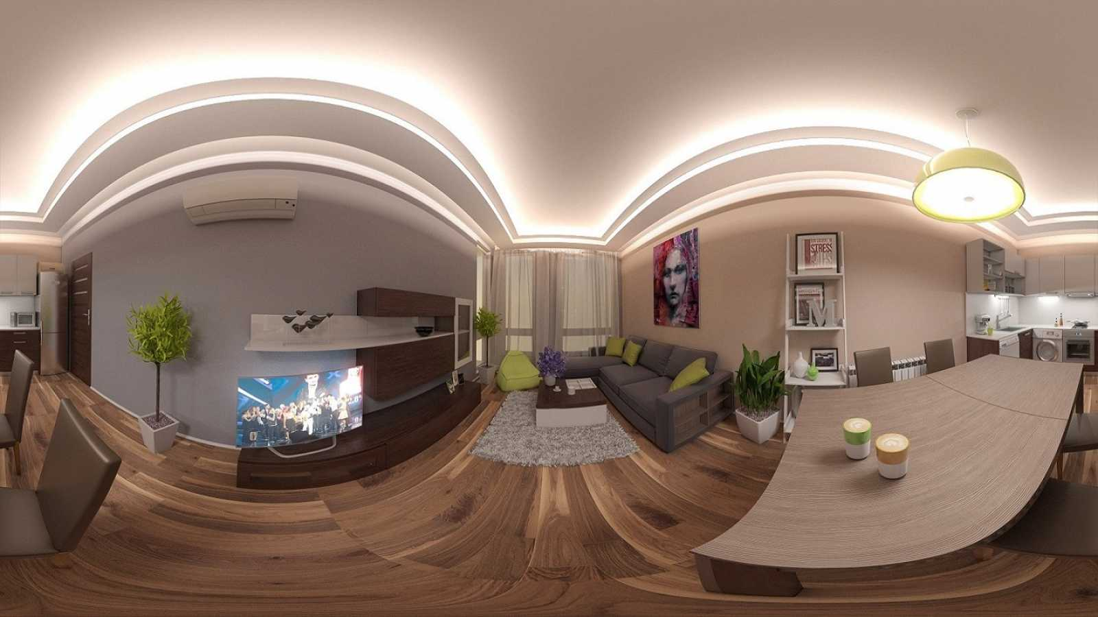 360 virtual reality for Room design 360