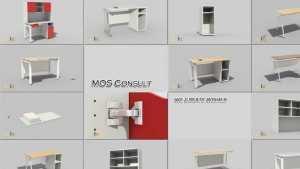 Office furniture assembly trailer
